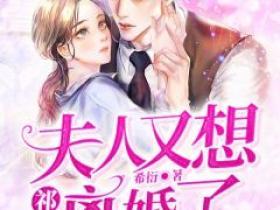 (完整版未删节)小说祁总,夫人又想离婚了  第8章